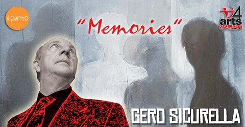 """Memories - Gero Sicurella """"one day only"""" in 4ARTS Gallery"""